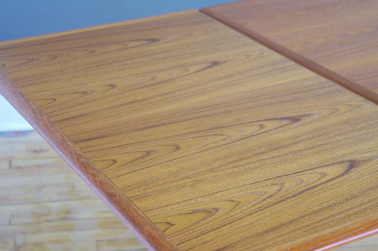 Teak Dining Table by Arne Hovmand Olsen for Skovmand  : HovmandOlsenTeakDiningTable5l from 1stdibs.com size 1280 x 850 jpeg 118kB