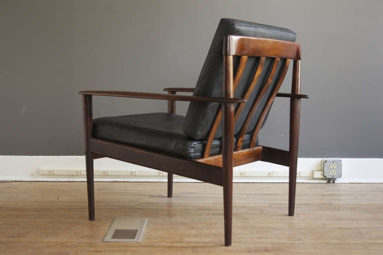 Rosewood lounge chair by grete jalk for p jeppesen at 1stdibs for P jeppesen furniture