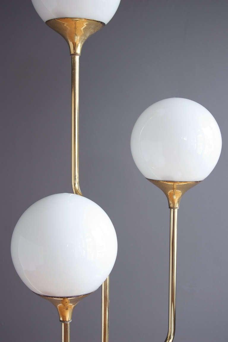 Brass Floor Lamp By Reggiani At 1stdibs