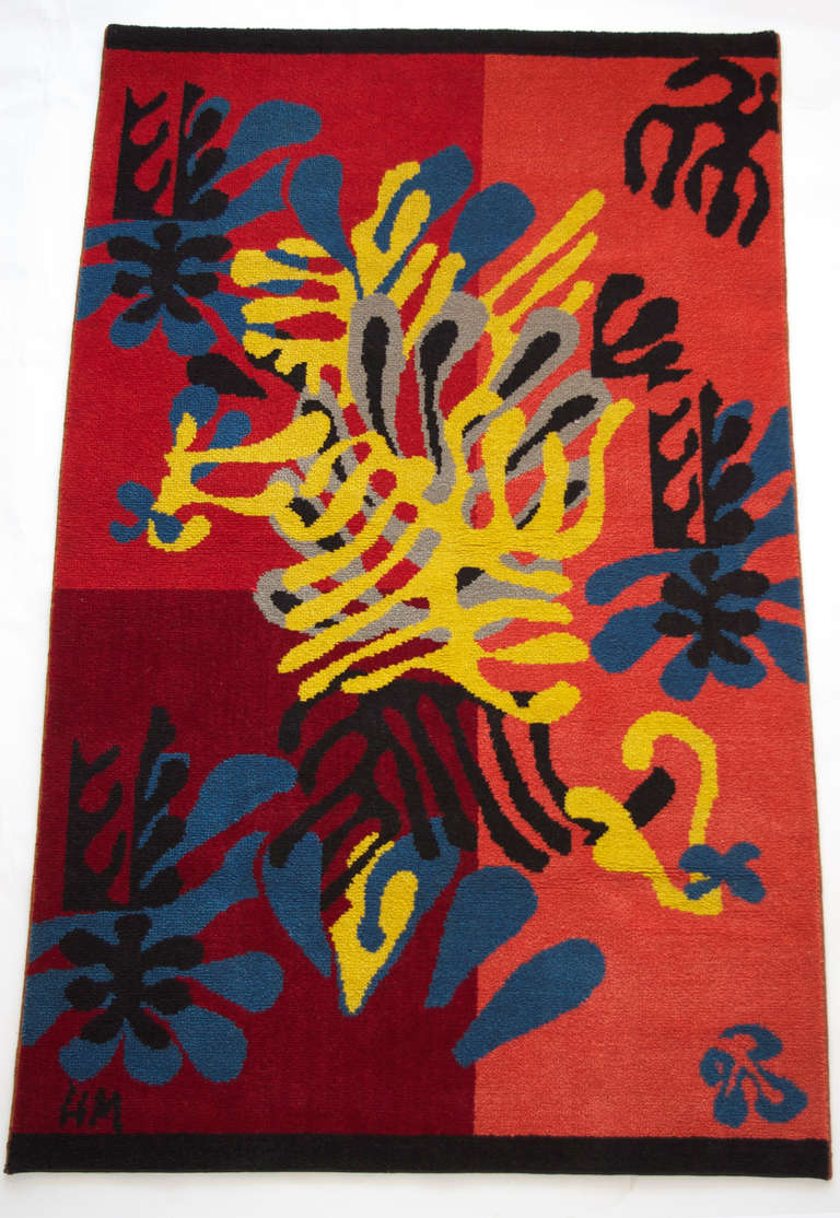 Henri Matisse Quot Mimosa Quot Wool Carpet By Alexander Smith And