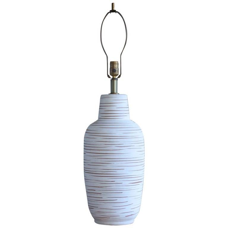 Large Ceramic Table Lamp by Design Technics
