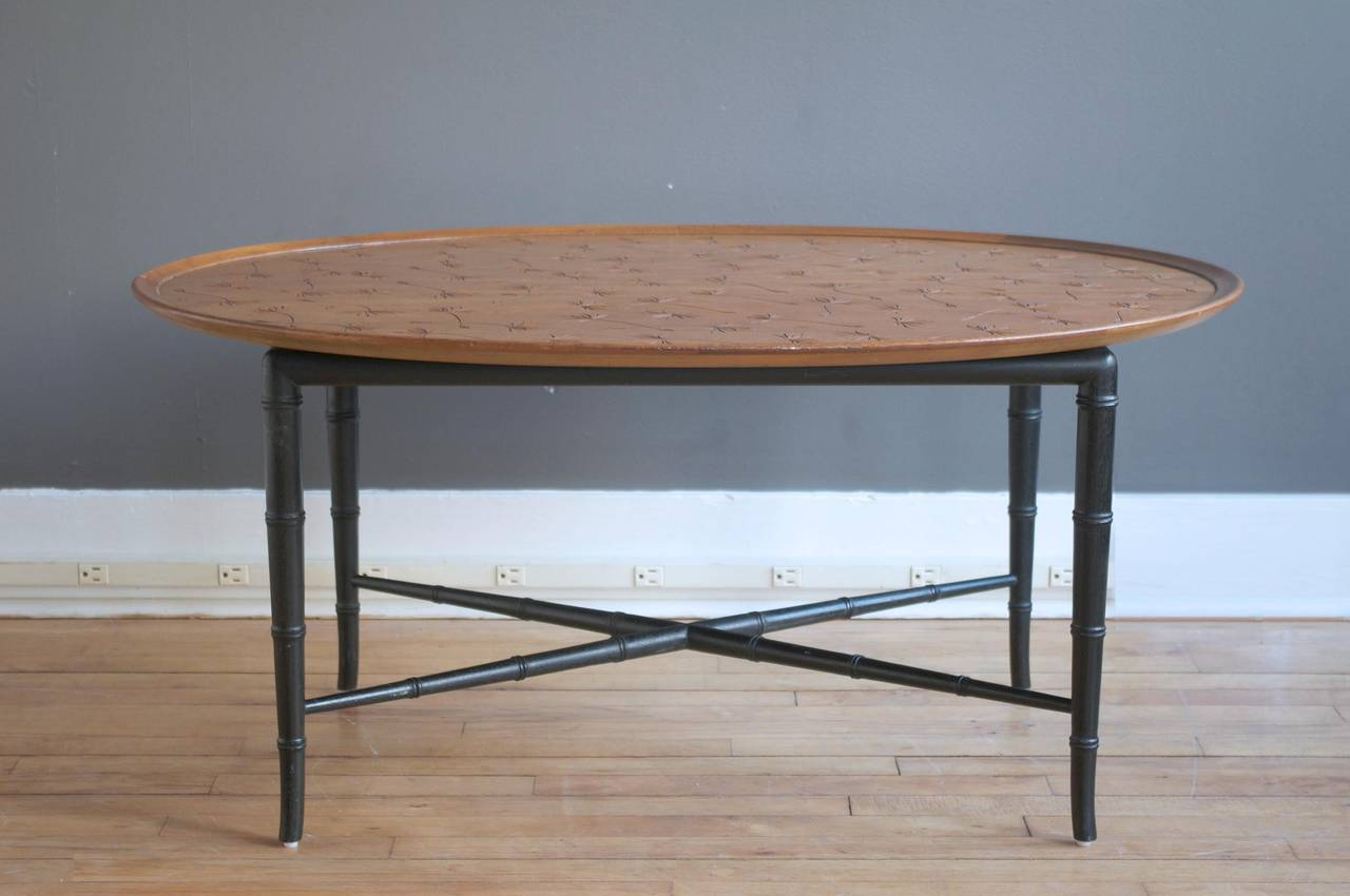 Mahogany Coffee Table By Kittinger For Sale At 1stdibs