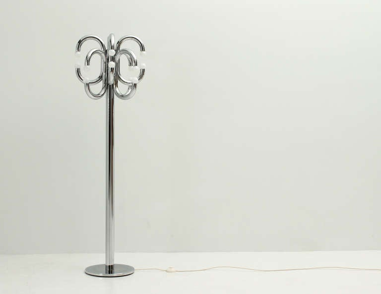 Medusa Floor Lamp Glass Shades : Large medusa floor lamp at stdibs