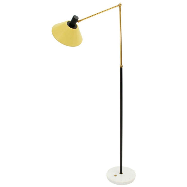 Articulated stilux floor lamp at 1stdibs for Led articulated floor lamp