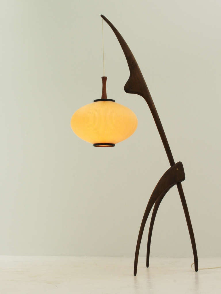 mantis floor lamp by rispal at 1stdibs. Black Bedroom Furniture Sets. Home Design Ideas