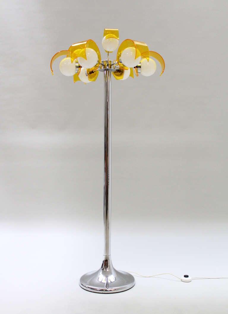 exuberant palm tree floor lamp at 1stdibs. Black Bedroom Furniture Sets. Home Design Ideas