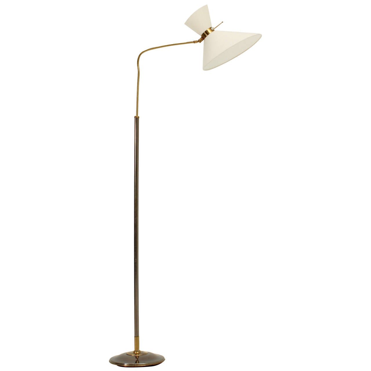 Floor lamp by lunel 1950s at 1stdibs for 1950s floor lamps