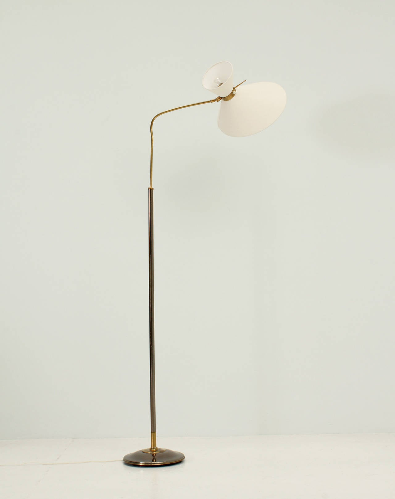 Floor lamp by lunel 1950s at 1stdibs for 1950 floor lamp