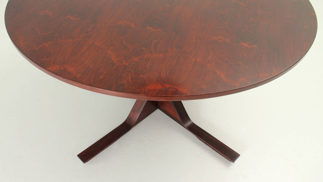 gianfranco frattini round dining table by bernini for sale at 1stdibs