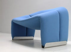Easy Chair F598 by Pierre Paulin image 4