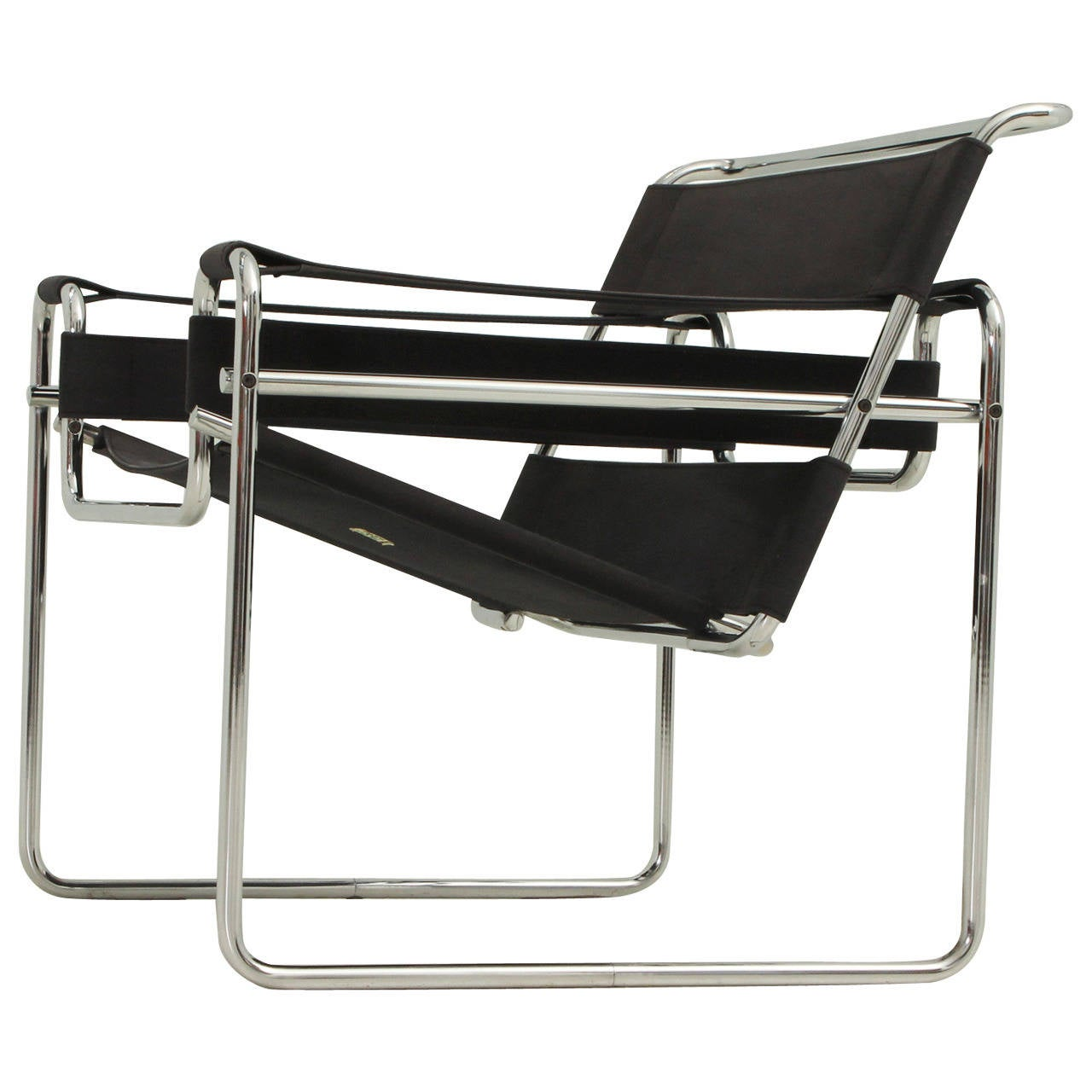 wassily chair by marcel breuer for gavina at 1stdibs. Black Bedroom Furniture Sets. Home Design Ideas