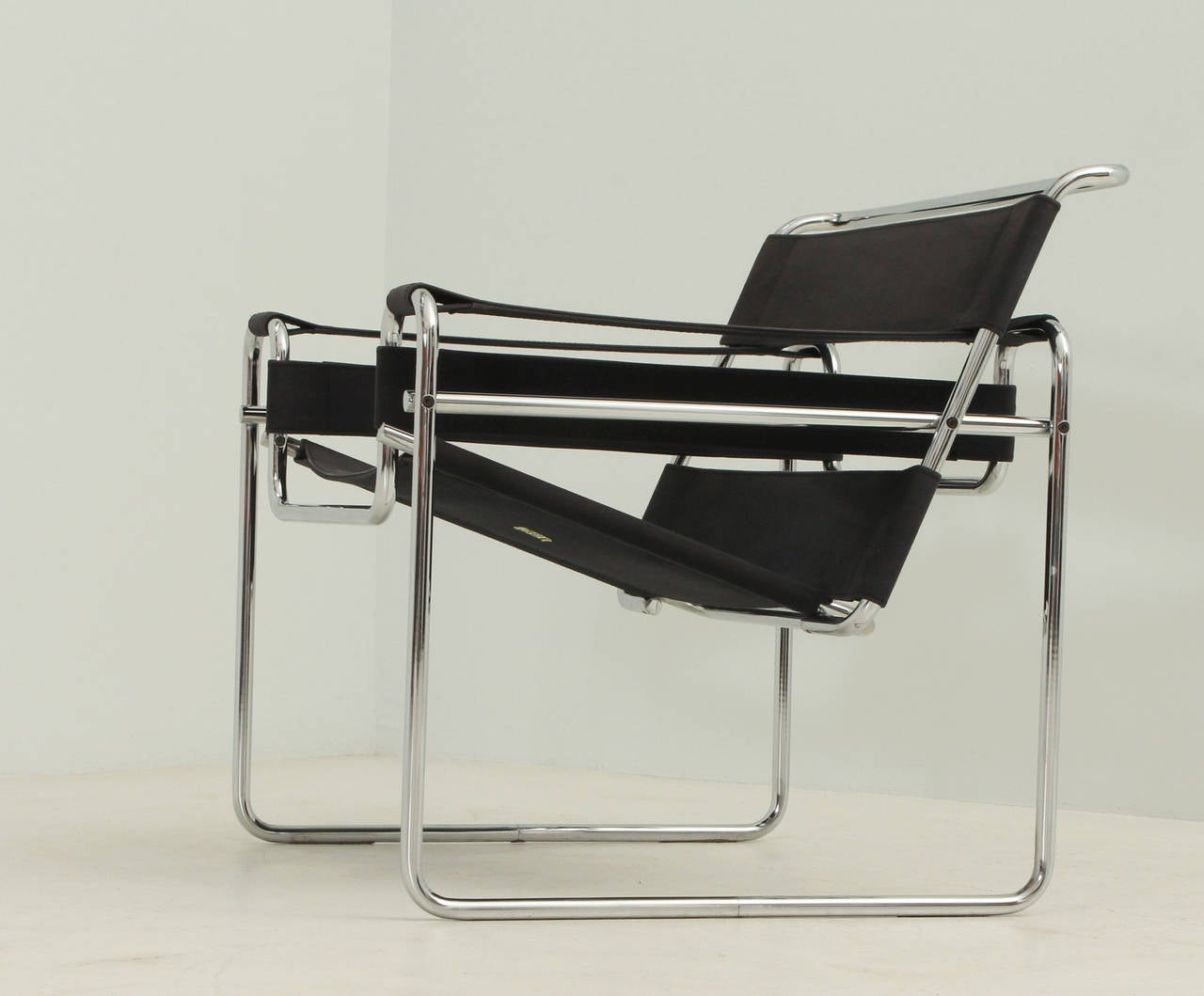 Leather french dining chairs - Wassily Chair By Marcel Breuer For Gavina At 1stdibs