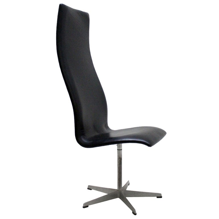 oxford chair by arne jacobsen at 1stdibs. Black Bedroom Furniture Sets. Home Design Ideas