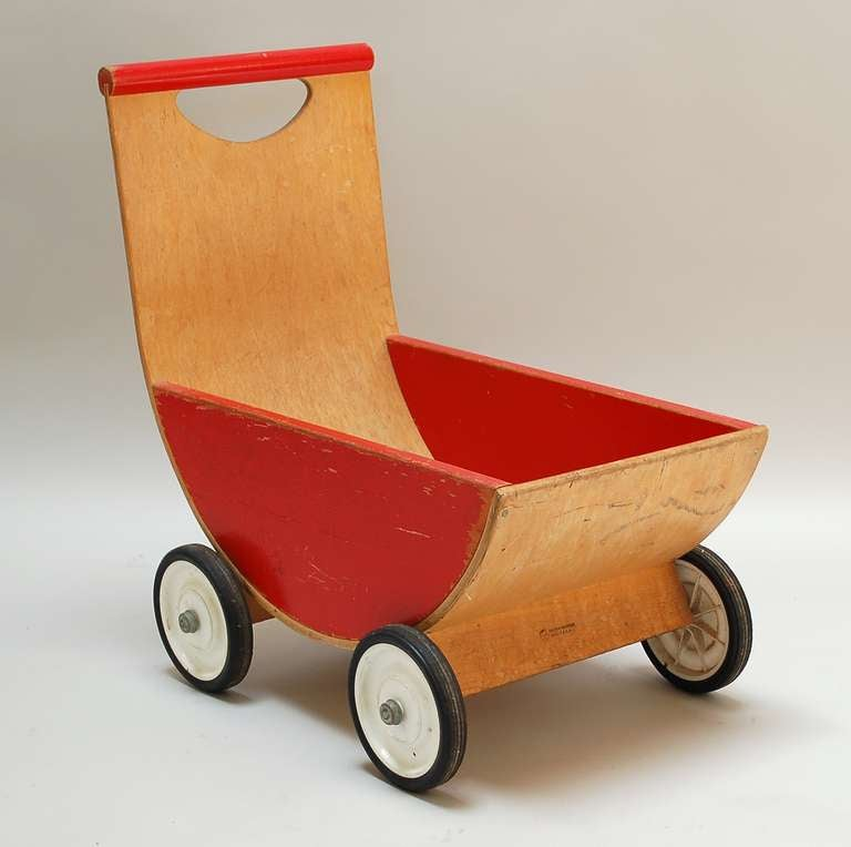 Creative Playthings Molded Plywood Carriage At 1stdibs