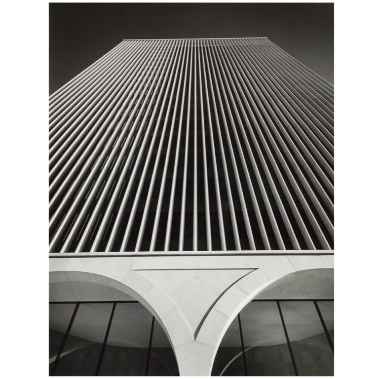 Photograph Of The Ibm Building Seattle By Hedrich Blessing