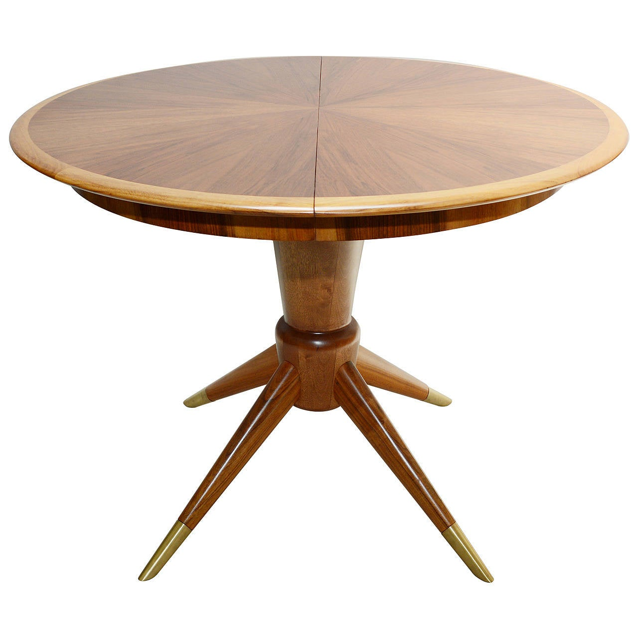 Italian round pedestal dining table at 1stdibs for Italian dining table