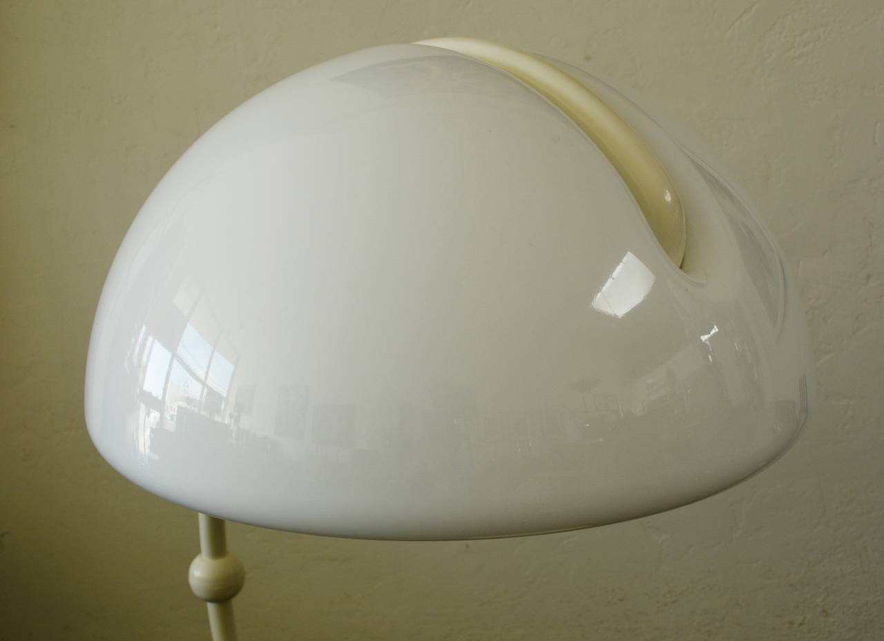 Martinelli Luce Serpente Floor Lamp In Good Condition For Sale In San Mateo, CA