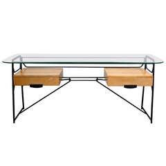 Maurizio Tempestini Iron Desk for Salterini