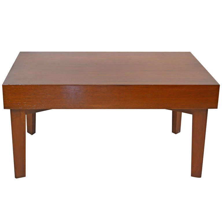 George Nelson Coffee Table With Pull Out Trays For Sale At 1stdibs
