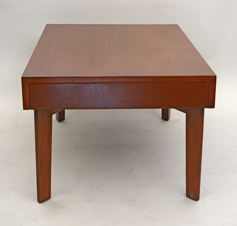 George nelson coffee table with pull out trays for sale at - Archives departementales 33 tables decennales ...