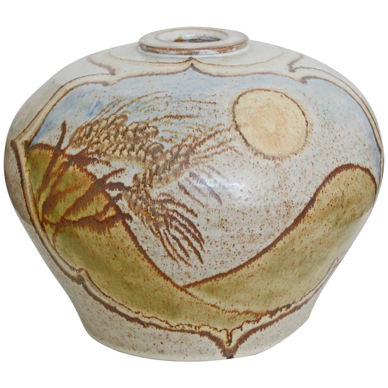 Large sasha makovkin pottery floor vase for sale at 1stdibs large sasha makovkin pottery floor vase for sale reviewsmspy