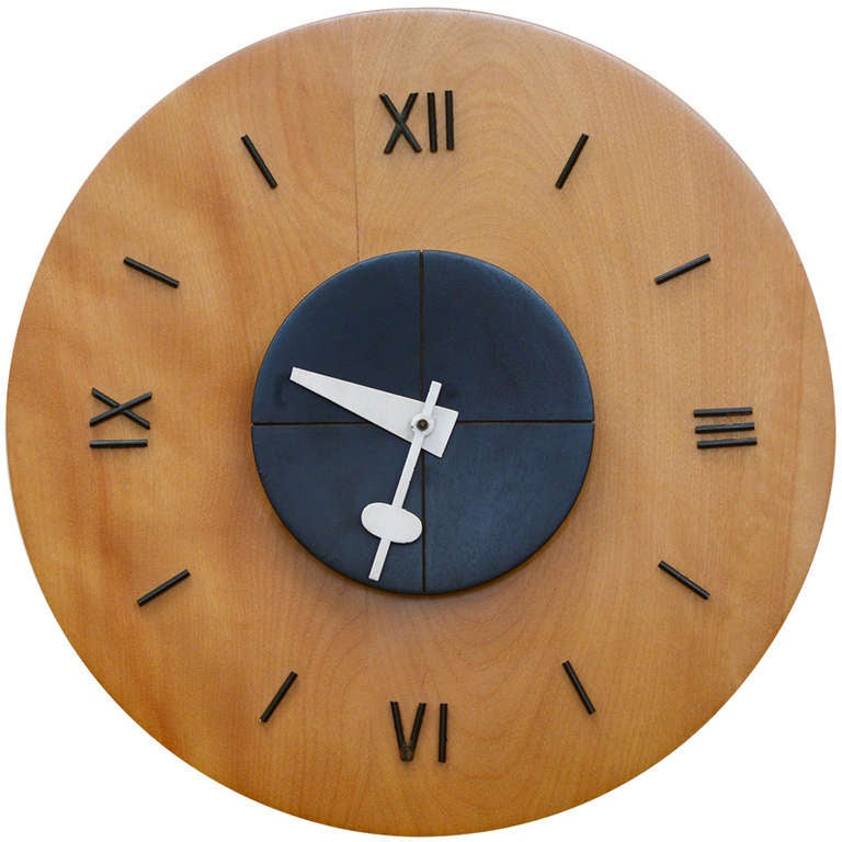 George nelson wall clock at 1stdibs for Nelson wall clock