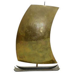 Rena Rosenthal Bronze Sailboat