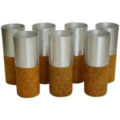 Russel Wright Aluminum Mint Julep Cups