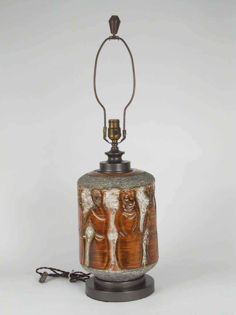"""the Women"" Ceramic Table Lamp 2"