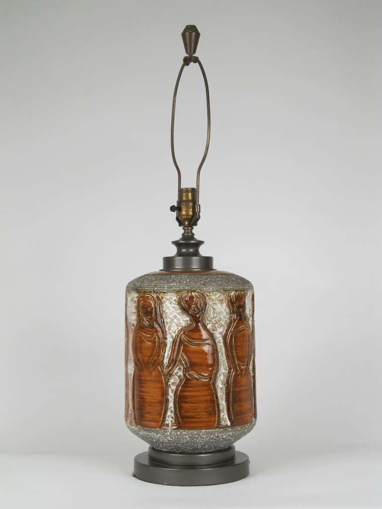 """the Women"" Ceramic Table Lamp 3"