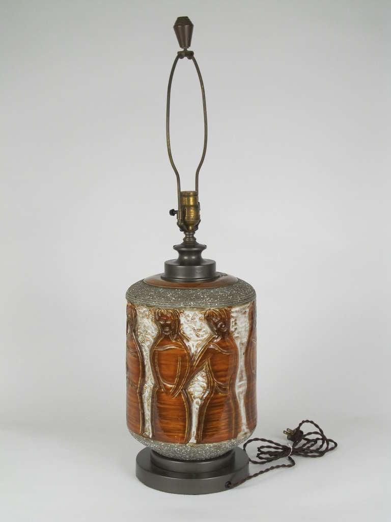 """the Women"" Ceramic Table Lamp 5"