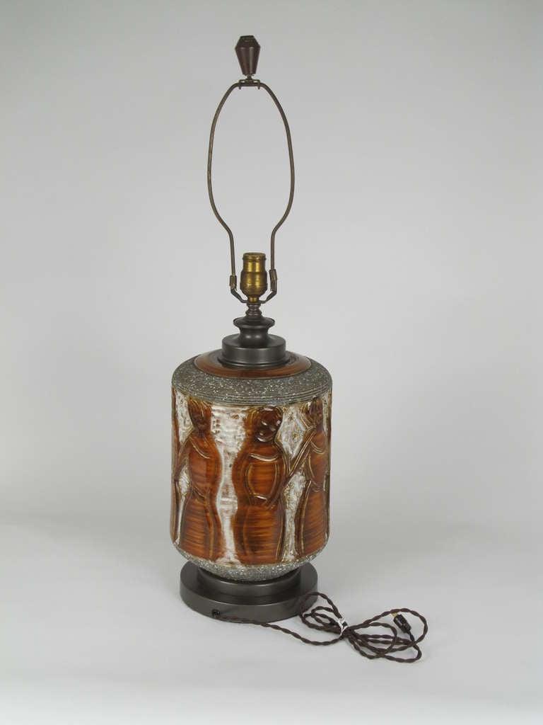 """the Women"" Ceramic Table Lamp 8"