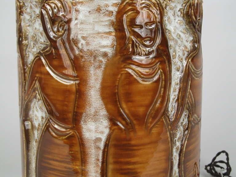 """the Women"" Ceramic Table Lamp 6"