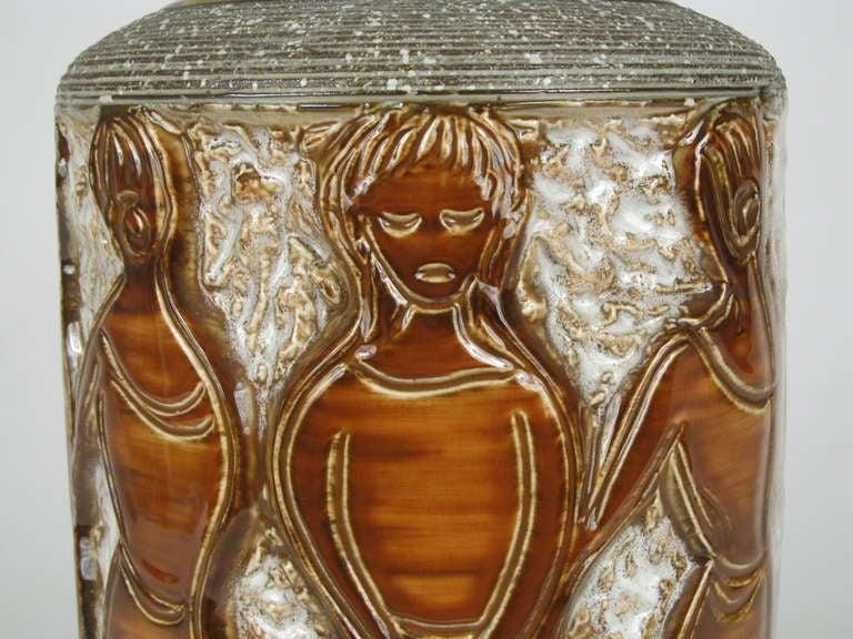 """the Women"" Ceramic Table Lamp 7"