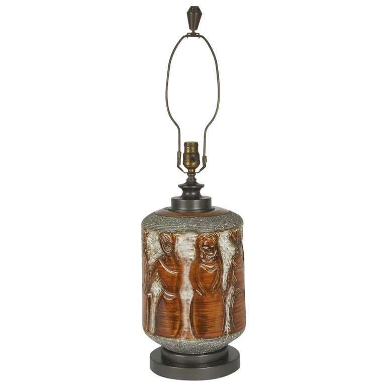 """the Women"" Ceramic Table Lamp 1"