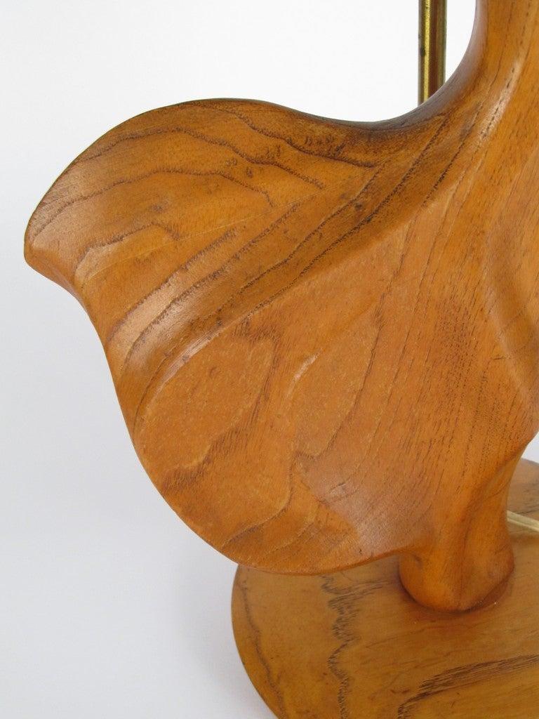 Heifitz Female Dancer Carved Wood 5
