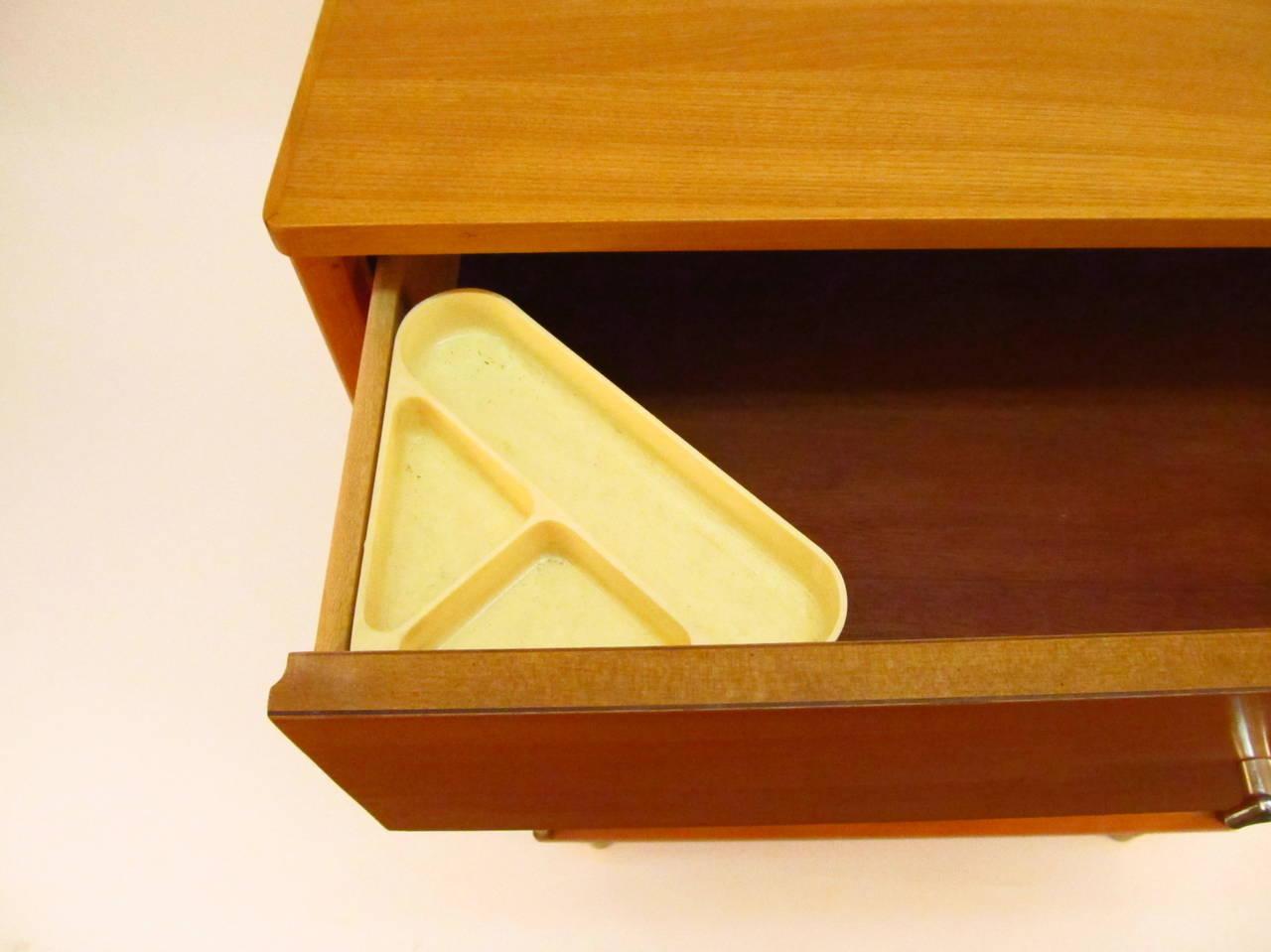 1950 S Wood Furniture ~ Pair of s drexel blonde wood highboy dressers at stdibs
