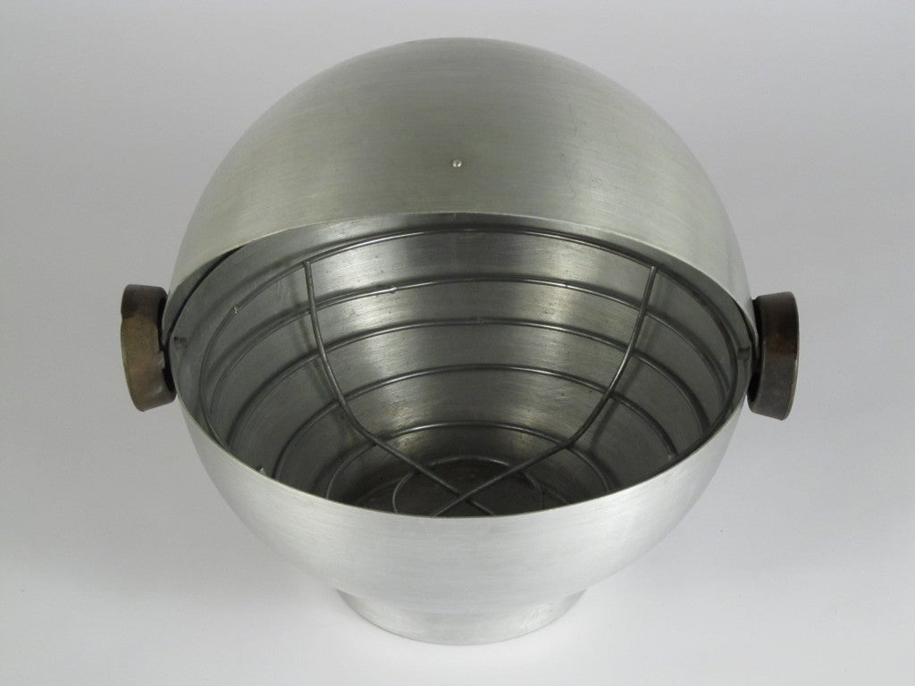 Russel Wright Spun Aluminum Bun Warmer At 1stdibs