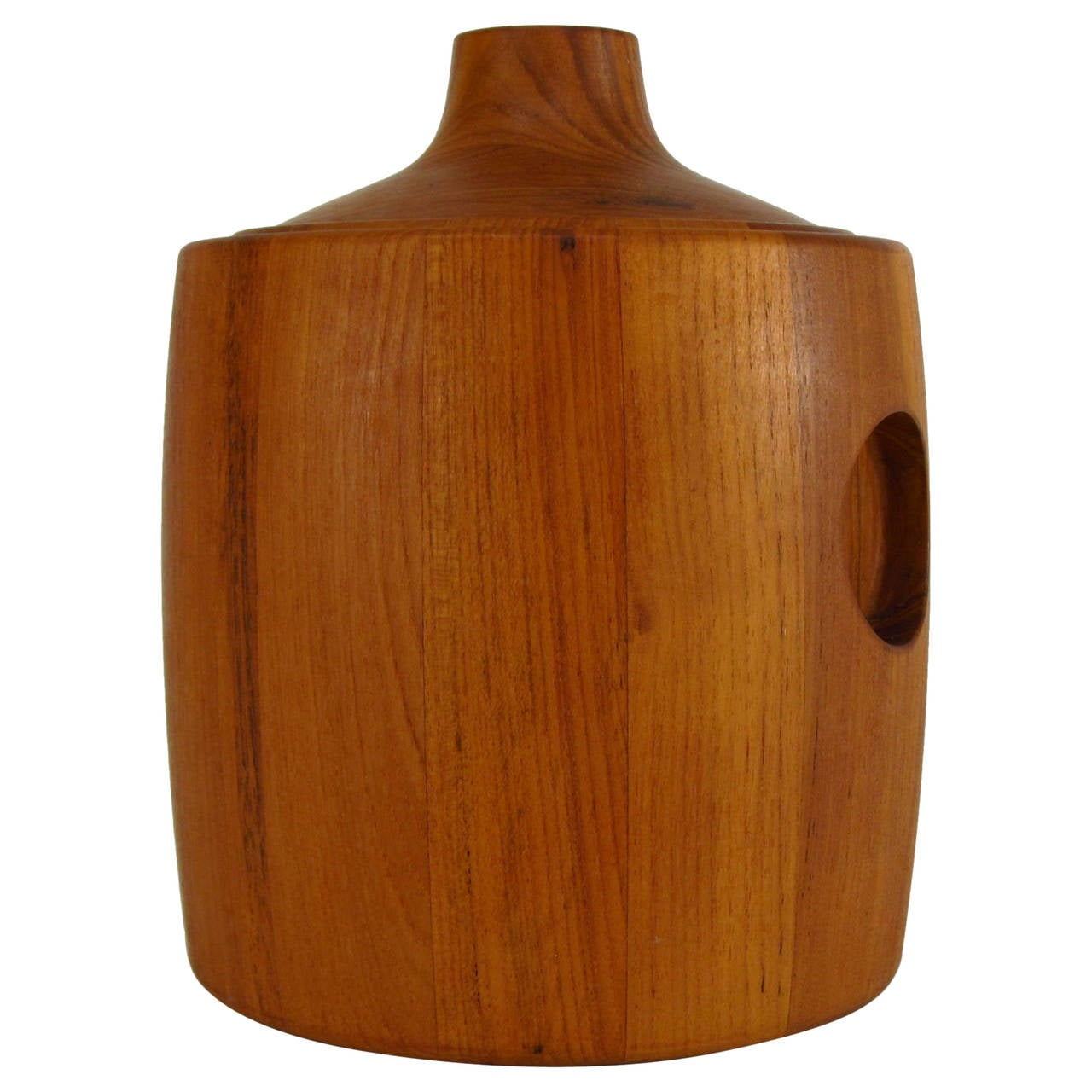 Henning Koppel Designed Teak Ice Bucket for Georg Jensen 1