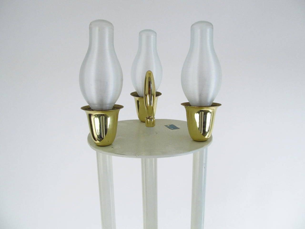Pair of Laurel Lamp Co. Elaborate Candelabra Table Lamps 6