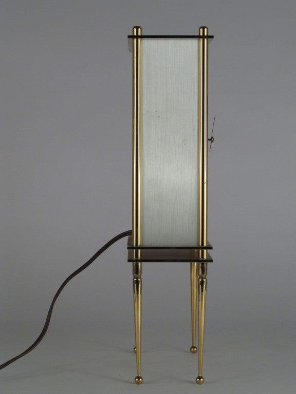 Rare Telechron Quot Showpiece Quot Design Line Clock By Leo Ivan