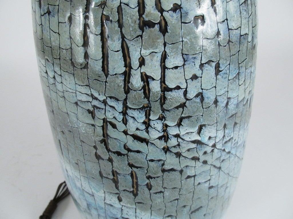 Italian Ceramic Table Lamp by San Polo 4