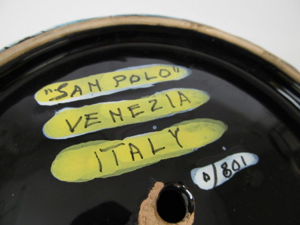 Italian Ceramic Table Lamp by San Polo 8