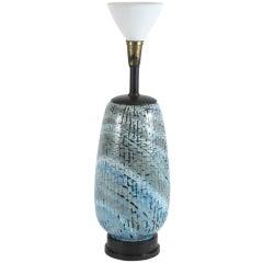 Italian Ceramic Table Lamp by San Polo