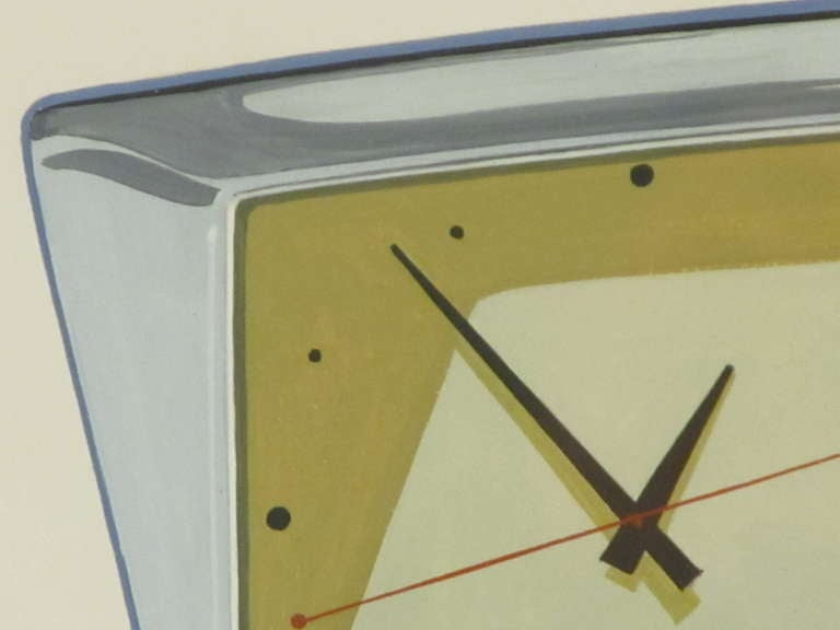 Industrial Rendering of an Imaginary Clock by Rene Pinchuk 3