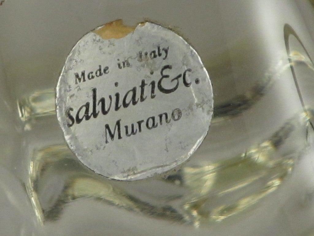 Salviati Murano Glass Spotted Koi Sculpture 5