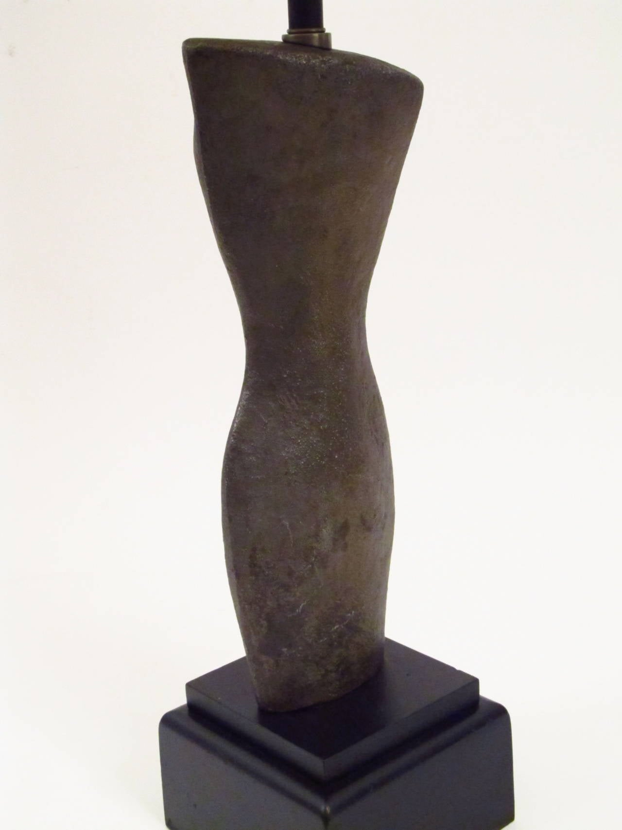 Female Torso Sculptural Table Lamp 5