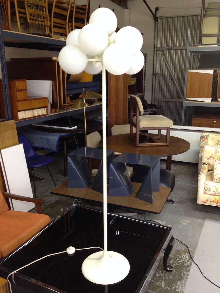 rare max bill tulip floor lamp at 1stdibs. Black Bedroom Furniture Sets. Home Design Ideas