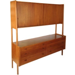 Hans Wegner 2 Tier Buffet Credenza for Ry Mobler