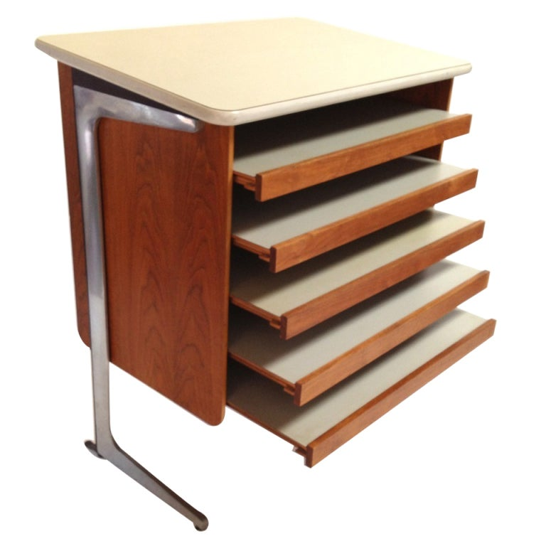 George Nelson Action Office Architects Drafting Table For